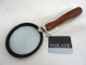 Magnifying Glass with a Twisted Wooden Handle 670174